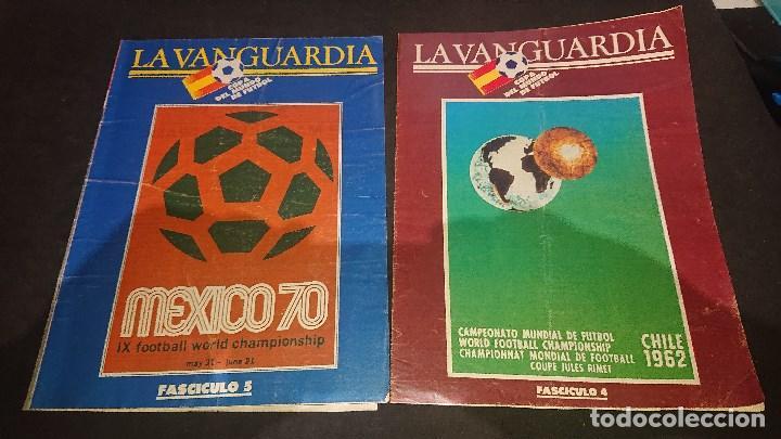 Coleccionismo deportivo: LOTE DE 6 FASCICULOS DE LA VANGUARDIA , COPA DEL MUNDO DE FUTBOL , Nº 1 4 5 7 8 9 , LEER DESCRIPCION - Foto 2 - 254463960