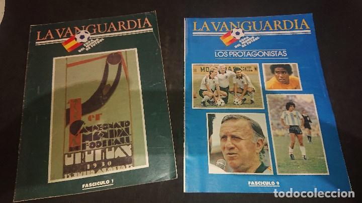 Coleccionismo deportivo: LOTE DE 6 FASCICULOS DE LA VANGUARDIA , COPA DEL MUNDO DE FUTBOL , Nº 1 4 5 7 8 9 , LEER DESCRIPCION - Foto 4 - 254463960
