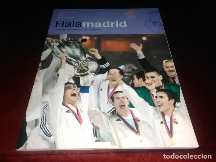 LOTE DE REVISTAS HALA MADRID Y TIEMPO DE DESCUENTO SUPLEMENTO EXCLUSIVO DE LA REVISTA HALA MADRID (Coleccionismo Deportivo - Revistas y Periódicos - otros Fútbol)