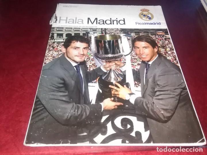 Coleccionismo deportivo: Lote de revistas hala Madrid y tiempo de descuento suplemento exclusivo de la revista hala madrid - Foto 4 - 254665700