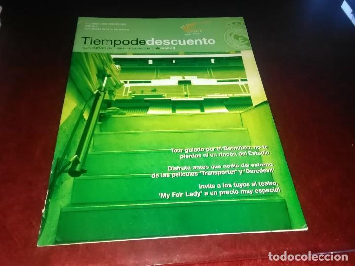 Coleccionismo deportivo: Lote de revistas hala Madrid y tiempo de descuento suplemento exclusivo de la revista hala madrid - Foto 14 - 254665700
