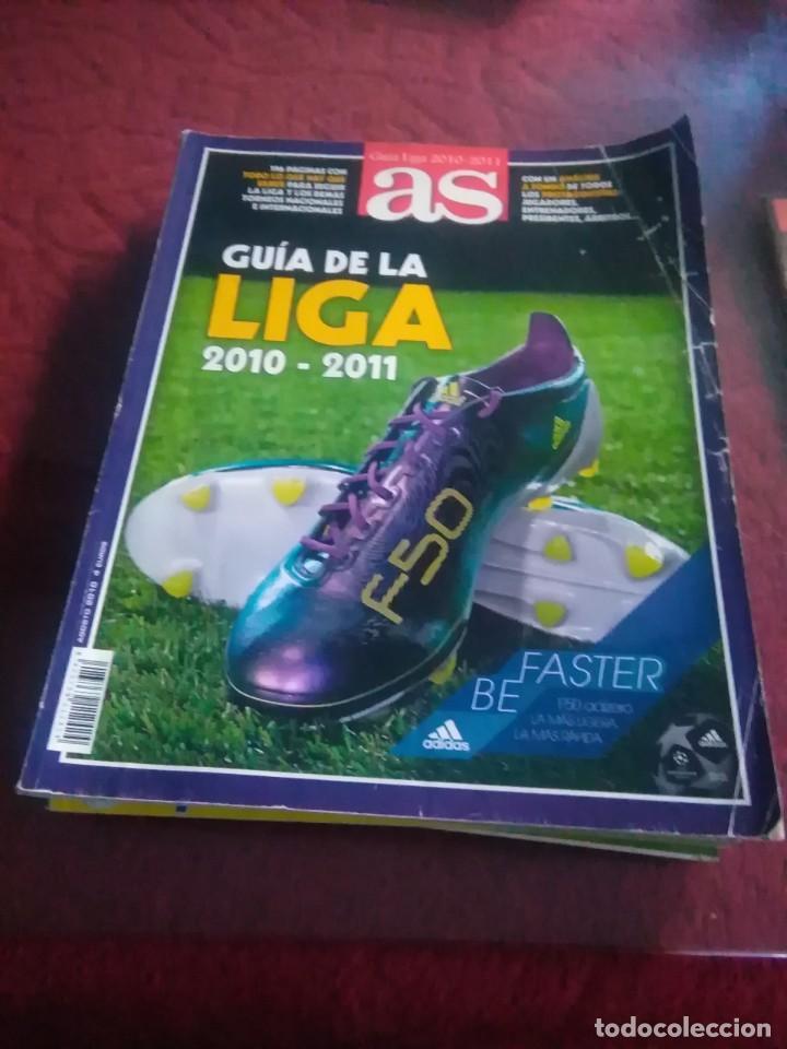 Coleccionismo deportivo: Lote de revistas y guias , son de don balón, marca,fútbol mundial y as - Foto 3 - 254688415