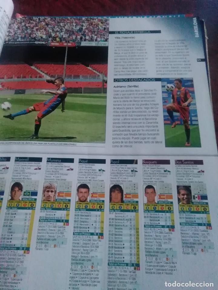 Coleccionismo deportivo: Lote de revistas y guias , son de don balón, marca,fútbol mundial y as - Foto 5 - 254688415