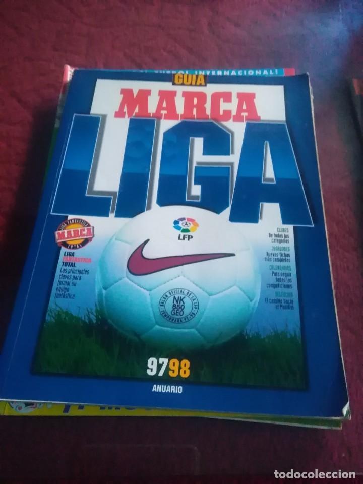 Coleccionismo deportivo: Lote de revistas y guias , son de don balón, marca,fútbol mundial y as - Foto 6 - 254688415