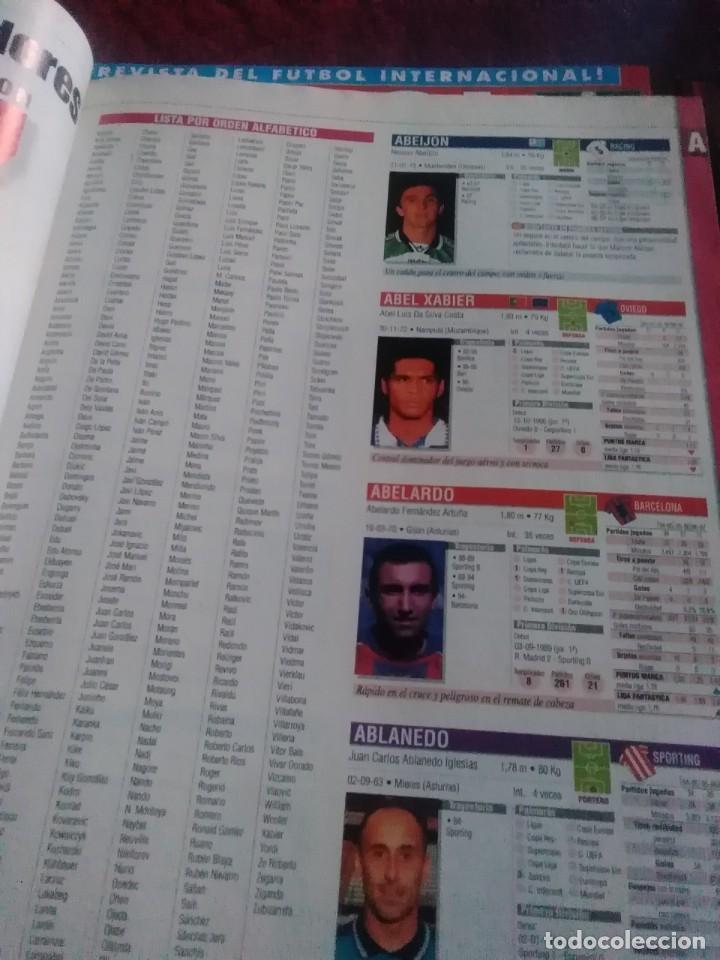 Coleccionismo deportivo: Lote de revistas y guias , son de don balón, marca,fútbol mundial y as - Foto 8 - 254688415