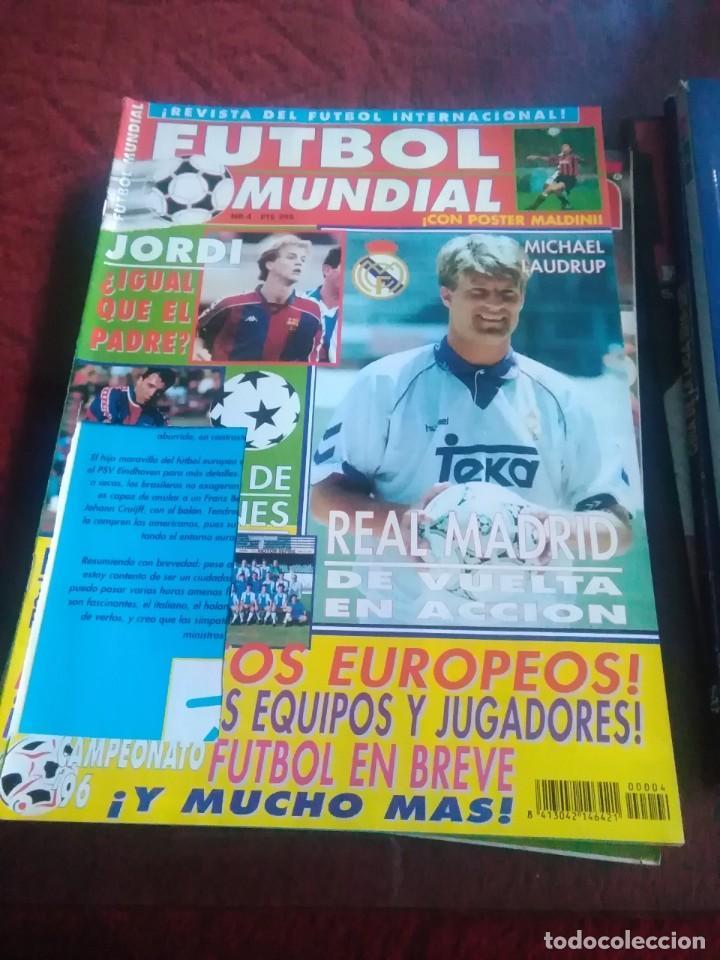 Coleccionismo deportivo: Lote de revistas y guias , son de don balón, marca,fútbol mundial y as - Foto 9 - 254688415