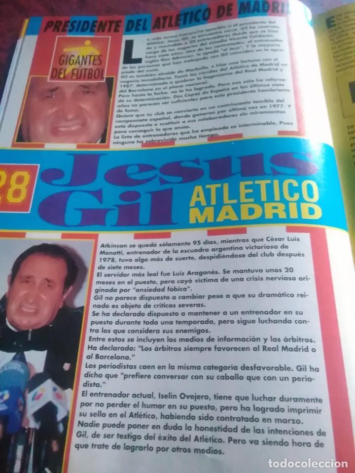 Coleccionismo deportivo: Lote de revistas y guias , son de don balón, marca,fútbol mundial y as - Foto 11 - 254688415