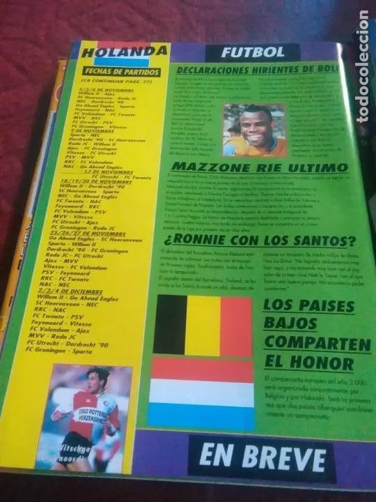 Coleccionismo deportivo: Lote de revistas y guias , son de don balón, marca,fútbol mundial y as - Foto 12 - 254688415