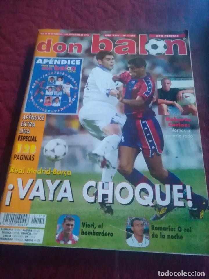Coleccionismo deportivo: Lote de revistas y guias , son de don balón, marca,fútbol mundial y as - Foto 13 - 254688415