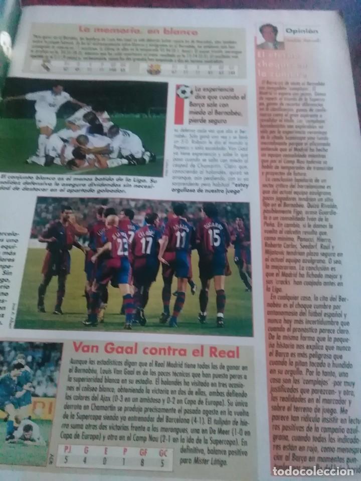 Coleccionismo deportivo: Lote de revistas y guias , son de don balón, marca,fútbol mundial y as - Foto 14 - 254688415