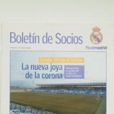 Coleccionismo deportivo: REVISTA BOLETÍN REAL MADRID 17 ABRIL 2006 INAUGURACIÓN ESTADIO ALFREDO DI STEFANO. Lote 254749150