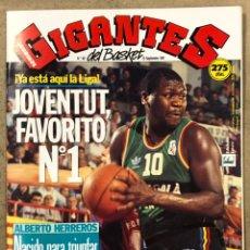 Coleccionismo deportivo: GIGANTES DEL BASKET N° 307 (1991). POSTER DRAZEN PETROVIC, JOVENTUT, ALBERTO HERREROS, NBA,.... Lote 254784110