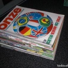 Coleccionismo deportivo: COLECCION REVISTA ONZE (FRANCIA) Nº 1 A 31 AÑOS 70 (VER FOTOS PORTADAS). Lote 254961485