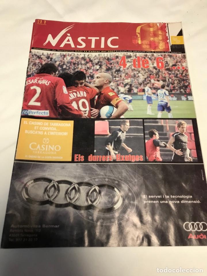 Coleccionismo deportivo: REVISTAS NASTIC - Foto 2 - 257545260