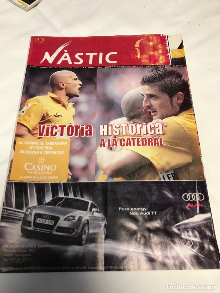 Coleccionismo deportivo: REVISTAS NASTIC - Foto 3 - 257545260