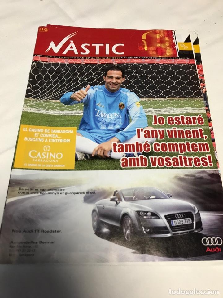 Coleccionismo deportivo: REVISTAS NASTIC - Foto 4 - 257545260