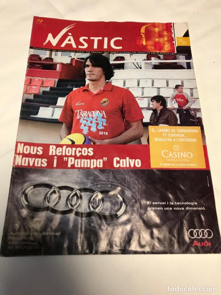 REVISTAS NASTIC (Coleccionismo Deportivo - Revistas y Periódicos - otros Fútbol)