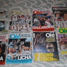 Coleccionismo deportivo: LOTE 8 REVISTAS ESPECIALES OLÉ ARGENTINA (VER RELACIÓN Y FOTOS). Lote 258750775