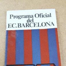 Coleccionismo deportivo: PROGRAMA OFICIAL Nº 443 - BARCELONA VS REAL BETIS - 19 ABRIL 1975. Lote 260133290