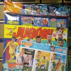 Collectionnisme sportif: REVISTA JUGON # 168 MERCADO DE INVIERNO LIGA ESTE CROMOS 2020 2021 PRECINTADA RAUL GUTI + 2 SOBRES. Lote 261784925