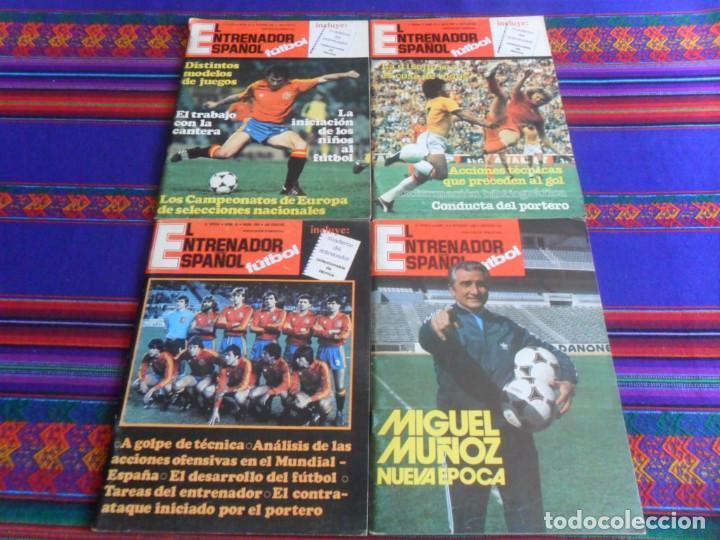 Coleccionismo deportivo: EL ENTRENADOR ESPAÑOL 2ª ÉPOCA 2 3 4 6 (2) 7 9 QUE ES REALMENTE EL 1 14 16 17 18. 1979. - Foto 2 - 87918208