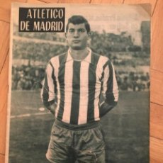 Collectionnisme sportif: REVISTA OFICIAL ATLETICO MADRID TOTTENHAM FINAL WINNERS CUP RECOPA EUROPA 1963. Lote 262171015