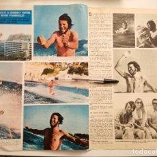 Coleccionismo deportivo: MANUEL BENÍTEZ EL CORDOBÉS Y MARTINA RECORTE REVISTA 2 PÁGINAS 1973. Lote 262311605