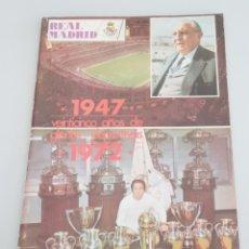 Coleccionismo deportivo: REAL MADRID-BOLETIN INFORMATIVO- EXTRA DICIEMBRE 1972 - 1947 A 1972- 25 AÑOS DE GLORIAS DEPORTIVAS. Lote 262993690