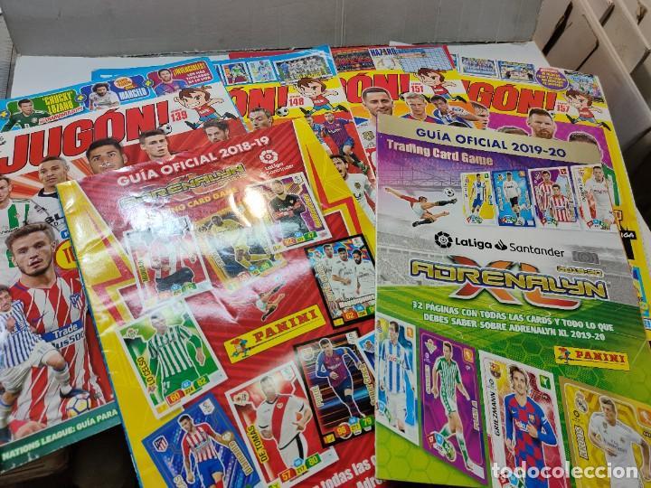 LOTE 4 REVISTAS JUGON Y 2 GUÍAS ADRENALYN (Coleccionismo Deportivo - Revistas y Periódicos - otros Fútbol)