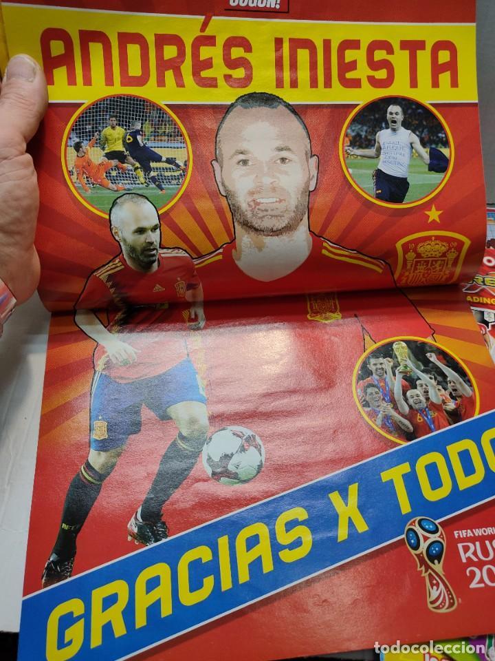 Coleccionismo deportivo: Lote 4 revistas Jugon y 2 guías Adrenalyn - Foto 3 - 263066730
