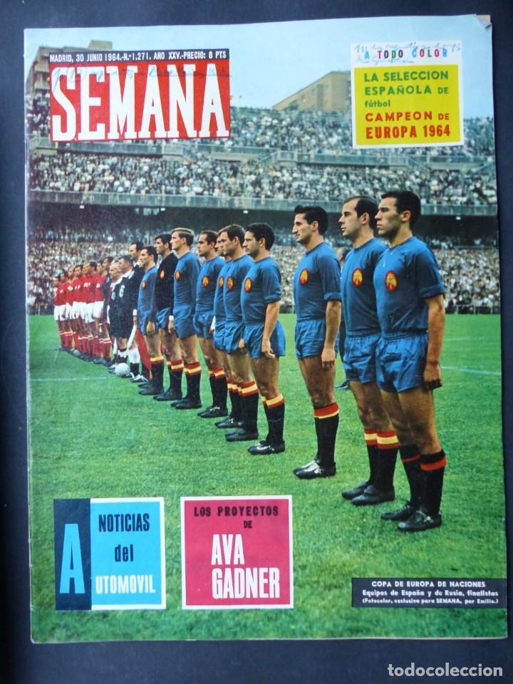 FUTBOL, 21 REVISTAS VARIAS - AÑOS 1940 A 1980 - VER FOTOS ADICIONALES (Coleccionismo Deportivo - Revistas y Periódicos - otros Fútbol)