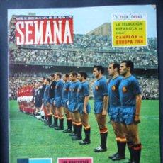 Collezionismo sportivo: FUTBOL, 21 REVISTAS VARIAS - AÑOS 1940 A 1980 - VER FOTOS ADICIONALES. Lote 263746900