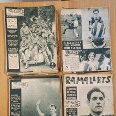 Coleccionismo deportivo: LOTE 130 REVISTAS BARÇA DE LOS AÑOS 59-62. Lote 263751355