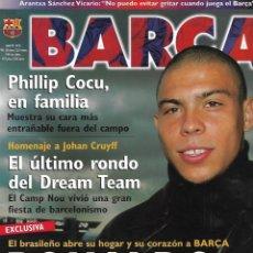 Coleccionismo deportivo: BARÇA NÚMERO 8. ABRIL DE 1999. Lote 263956315