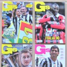 Collezionismo sportivo: 4 REVISTA RIVISTA GUERIN SPORTIVO JUVENTUS TORINO TURIN EXTRA CAMPIONI CALCIO 2012-13 + POSTER LOT13. Lote 265980618