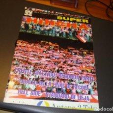 Colecionismo desportivo: REVISTA ULTRAS SUPER HINCHA NUMERO 25 - OCTUBRE 1995 - FRENTE ATLETICO (II). Lote 266058638