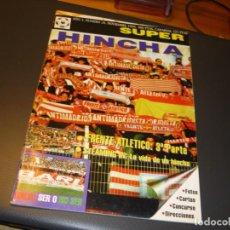 Colecionismo desportivo: REVISTA ULTRAS SUPER HINCHA NUMERO 26 - NOVIEMBRE 1995 - FRENTE ATLETICO (III). Lote 266058858