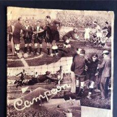 Collectionnisme sportif: CAMPEÓN / REVISTA DE DEPORTES - MADRID 1934 / MADRID F.C CAMPEON DE ESPAÑA. Lote 266137663