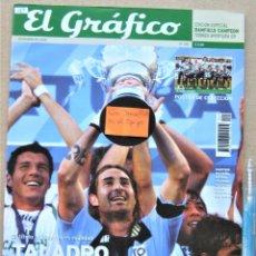Collectionnisme sportif: REVISTA EL GRAFICO DICIEMBRE 2009 ESPECIAL BANFIELD CAMPEON APERTURA 2009. EXTRA MAGAZINE REV193. Lote 266217048