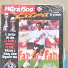 Collectionnisme sportif: REVISTA EL GRAFICO PROGRAMA 1996 PREVIA FINAL INTERCONTINENTAL RIVER PLATE – JUVENTUS TORINO REV238. Lote 266217383
