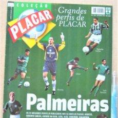 Collectionnisme sportif: REVISTA BRASIL PLACAR 2002 HISTORIA PALMEIRAS COLEÇAO GRANDES PERFIS / BIOGRAFIA JUGADORES REV526. Lote 266221098