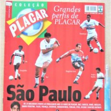 Collectionnisme sportif: REVISTA BRASIL PLACAR 2002 HISTORIA SAO PAULO FC COLEÇAO GRANDES PERFIS/BIOGRAFIA JUGADORES RV527. Lote 266221653