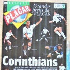 Collectionnisme sportif: REVISTA BRASIL PLACAR 2002 HISTORIA CORINTHIANS COLEÇAO GRANDES PERFIS / BIOGRAFIA JUGADORES RV528. Lote 266221878