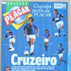 Collectionnisme sportif: REVISTA BRASIL PLACAR 2002 HISTORIA CRUZEIRO COLEÇAO GRANDES PERFIS / BIOGRAFIA JUGADORES REV529. Lote 266222138