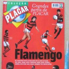 Collectionnisme sportif: REVISTA BRASIL PLACAR 2002 HISTORIA FLAMENGO COLEÇAO GRANDES PERFIS / BIOGRAFIA JUGADORES REV530. Lote 266222363