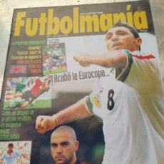 Coleccionismo deportivo: REVISTA FUTBOLMANÍA Nº 4 (JULIO-AGOSTO 1996) ESPECIAL EUROCOPA INGLATERRA. Lote 266456748