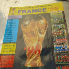 Coleccionismo deportivo: RARA REVISTA LA COPA MUNDIAL FRANCE 98 Nº 1. INFORMACION DEL MUNDIAL DE FUTBOL DE FRANCIA 1998. Lote 266458273