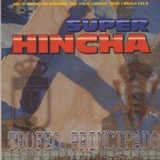 Colecionismo desportivo: REVISTA SUPER HINCHA 168 NOVIEMBRE 2007 ULTRAS HOOLIGANS. Lote 266465648