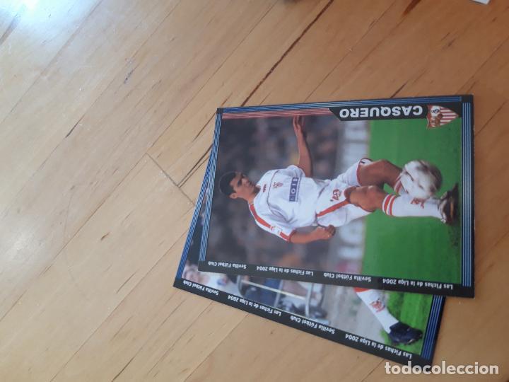 254 CASQUERO SEVILLA DE FICHAS DE LA LIGA 2004 MUNDICROMO 03 04 2003 2004 (Coleccionismo Deportivo - Revistas y Periódicos - otros Fútbol)
