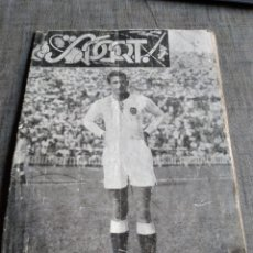 Coleccionismo deportivo: RARA REVISTA VALENCIA CLUB FUTBOL SPORT 1954. Lote 268042659